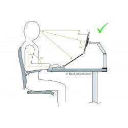 Bras support écran CA8 - posture adequate