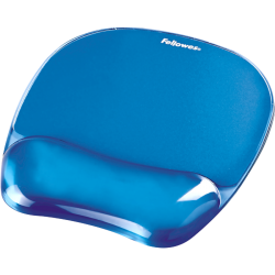 Tapis souris ergonomique GEL CRYSTAL™ BLEU 4