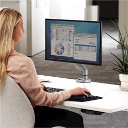 Bras porte-écran simple Eppa™ gris 3