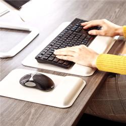 Repose-poignets pour clavier Hana™ gris  4