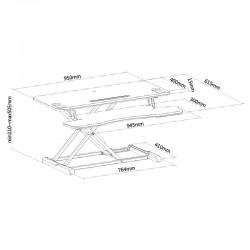 plateforme assis-debout Newstar 2