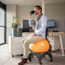 Chaise ergonomique Confort avec ballon Tonic Chair® 2
