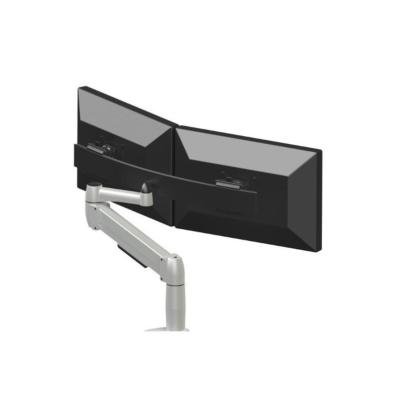Bras support double écran Space-arm Beam (étau)