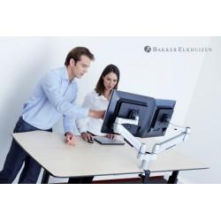 bras articule positionne sur le bureau